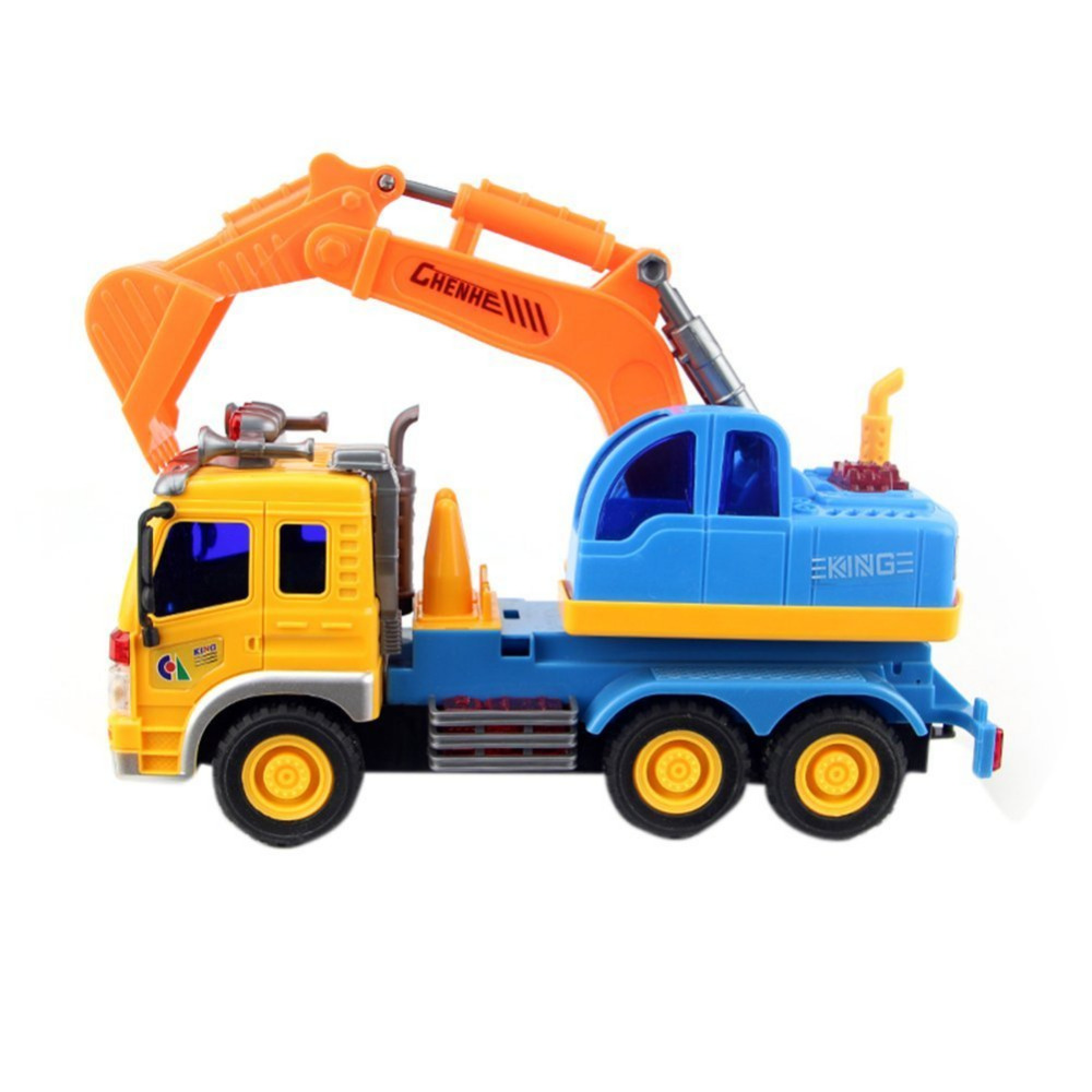 Construction Vehicle Toys For Boys : Popular small backhoe loader buy cheap
