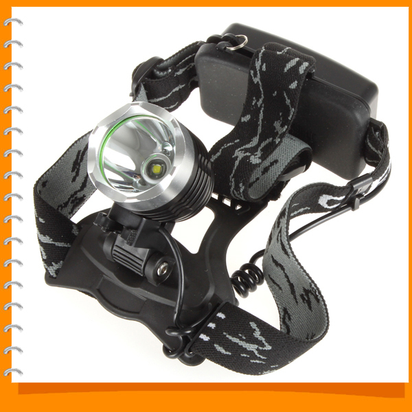 2000 Lumens Waterproof CREE XML T6 LED Headlamp Headlight 3 Brightness Modes Cycling LED Head Light Lamp<br><br>Aliexpress