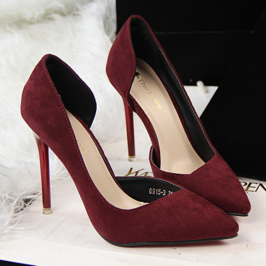High Heels With Red Underneath