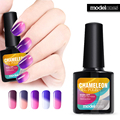 Modelones 10ml Tempreature color changing gel nail polish 24Colors Soak off LED UV Chameleon Gel polish