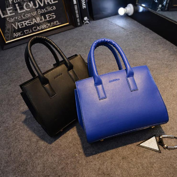 Free shipping New Fashion Women Handbag PU Leather Vintage Shoulder Crossbody Saffiano Bag Bolsas Femininas Tote Messenger bags(China (Mainland))
