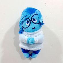 Rare Inside Out Sadness Blue Girl Doll Cute Soft Stuffed Plush Toy Limited Collection Birthday Gift(China (Mainland))