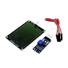 Smart Electronics 3.3-5V Rain Raindrops Sensitive Detection Sensor Module Weather Humidity For Arduino Diy Starter Kit(China (Mainland))