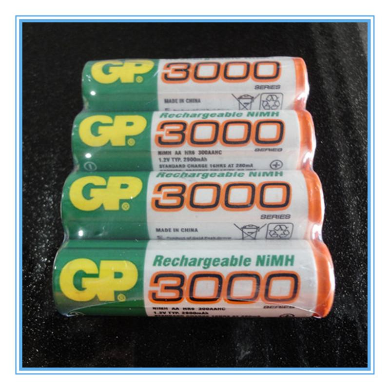 16 Pieces NiMH AA 1 2V Rechargeable NI MH Battery 3000 mAh bateria recargable gp AA