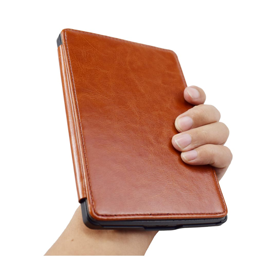 Advanced Leather Cover Sleeve for Kinlde 4 kindle 5 flip Case high quality book case for kindle 4th kindle 5th (Not fit Touch)(China (Mainland))