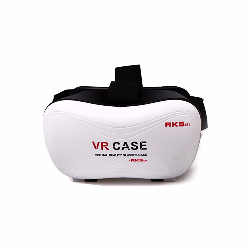 ถูก 2016ขายร้อน3D VRแว่นตาชุดหูฟังVRกรณี5th 3Dแว่นตาอัพเกรดรุ่นความจริงเสมือนกล่องเลนส์ที่สามารถปรับได้และสายรัด