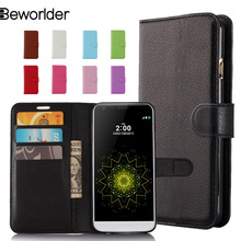 Buy LG G6 Flip PU Leather Case Lichee Pattern Phone Cases Cover Bags Wallet Card Slots High Stand 9 Colors for $3.85 in AliExpress store