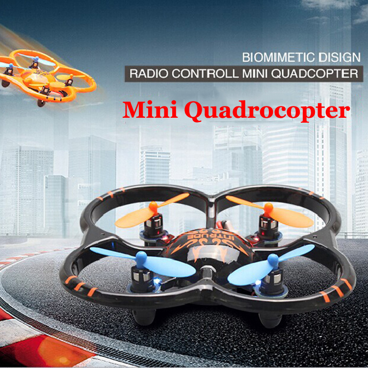New 2.4G Remote Control Quadcopter Toy 4CH 6Axis RC Helicopter Flying Mini UFO Radio Control Aircraft Drone With LED Light(China (Mainland))