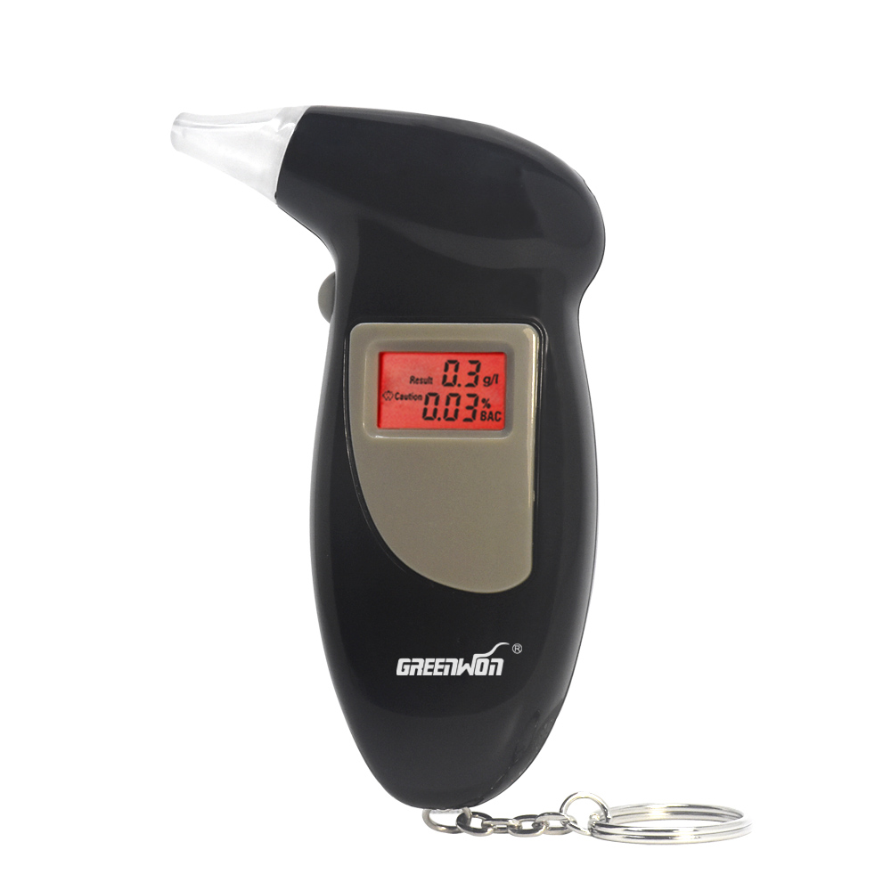 Factory Price Key Chain Alcohol Tester, Digital Breathalyzer Alcohol Breath Analyze Tester(0.19% BAC Max) Wholesale(China (Mainland))