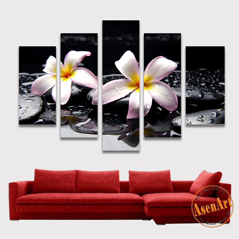 online kaufen gro handel floral leinwand kunstdrucke aus. Black Bedroom Furniture Sets. Home Design Ideas