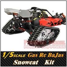 Rovan 1/5 Benzin Motor fernbedienung CNC Snowcat, BaJa 5B, RC Auto/Lkw, Freies Verschiffen(China (Mainland))