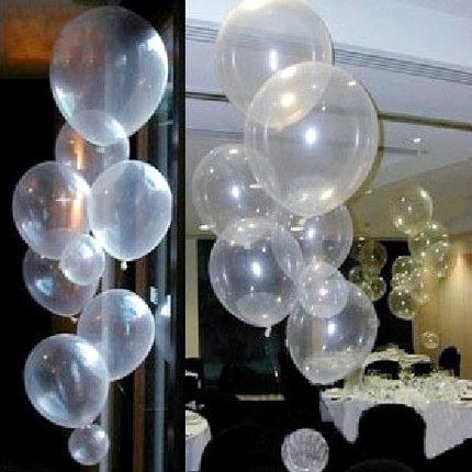 50pcs/lots Free shipping wholesales 10 inch clear balloons ,transparent balloon, wedding/party/brithday decoration(China (Mainland))