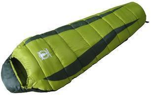 Free shipping! Double layer sleeping bag hollow cotton sleeping bag mummy type sleeping bag(China (Mainland))