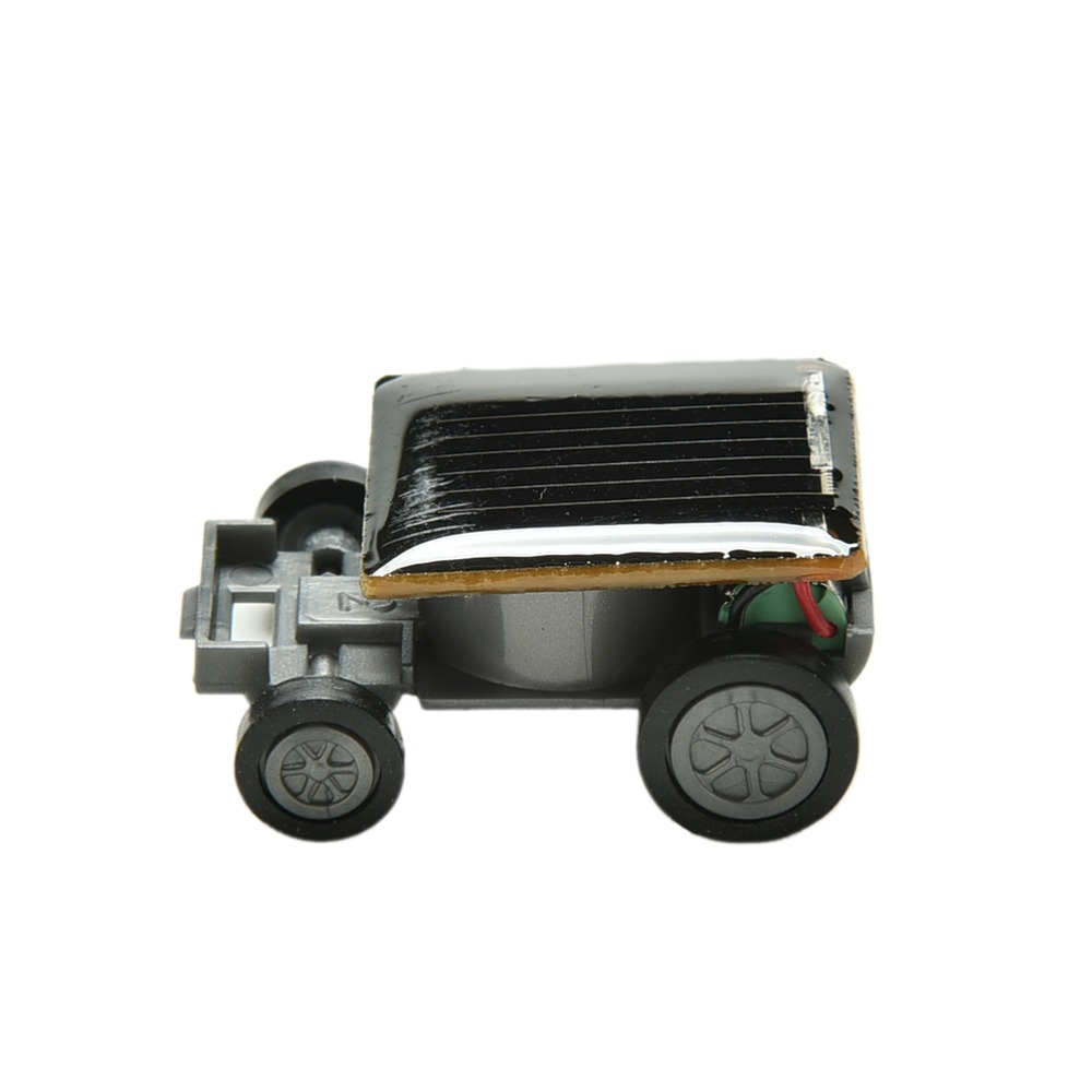 1 Piece New Hot Selling Mini Toy Car Racer Top Quality Solar Power Car Educational Gadget Children Kids Toys(China (Mainland))