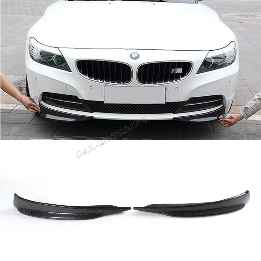 Bmw Z4 Splitter: Aliexpress.com : Buy Hiqh Quality Carbon Fiber Front