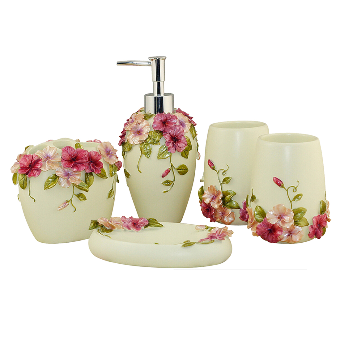 Popular soap dispenser set buy cheap soap dispenser set for G style bathroom accessories