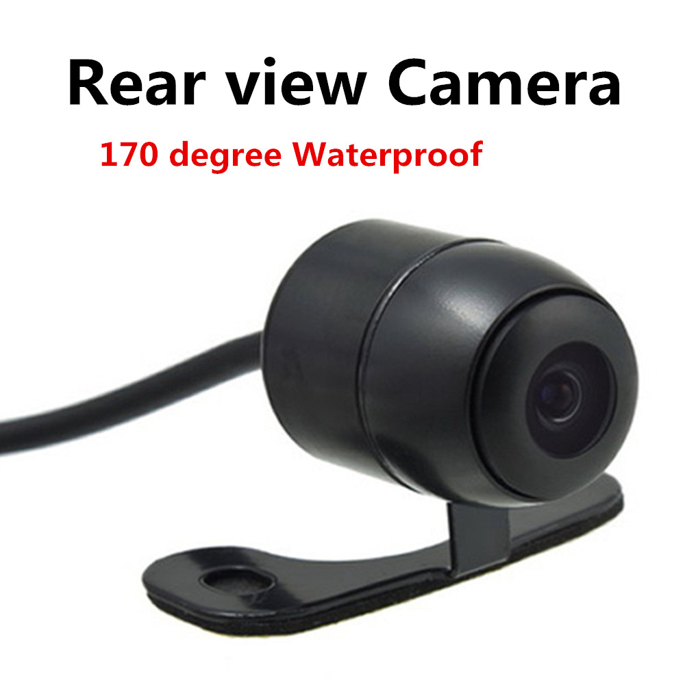 wholesale Waterproof Universal HD Car Rear view Back Up Reverse Parking Camera CMOS Front/Side View Camera 170 degree(China (Mainland))
