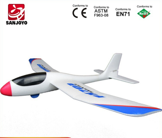Beautifu rc toys Hot Sellthe new aircraft model toy in 2015 FX 703 hand THROWING plane VS Wltoys F939