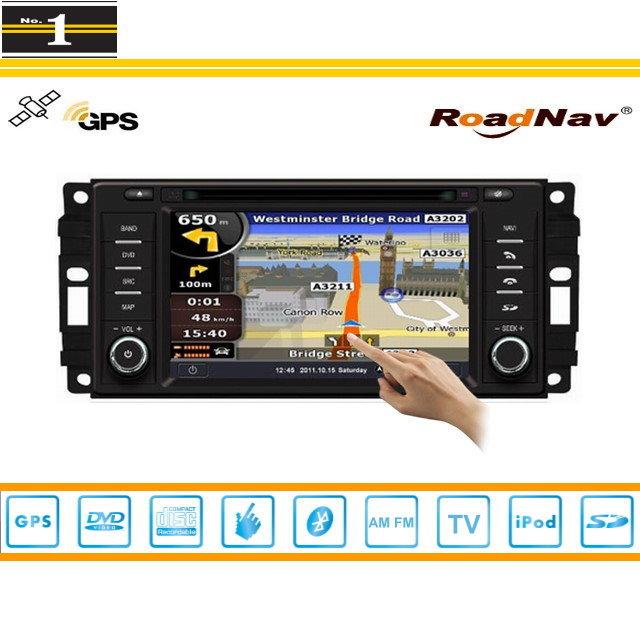 For Dodge Ram 2009~2010 - Indash GPS Navigation DVD Player Radio Stereo TV BT iPod 3G WIFI 1080P S100 Multimedia System(China (Mainland))
