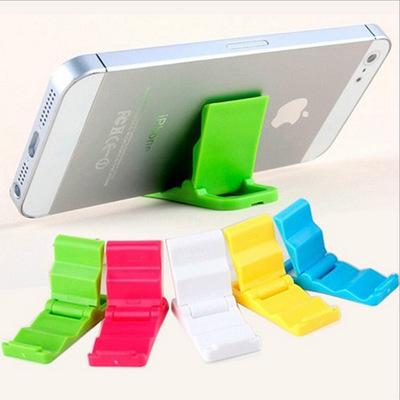 General bracket folding double folding beach gear bracket Apple Keychain support lazy mobile phone 7007(China (Mainland))