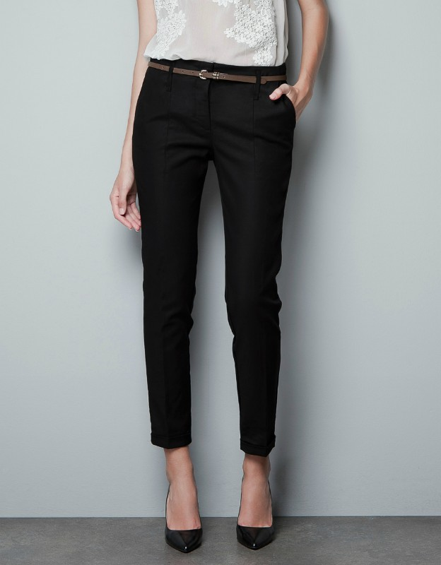 Elegant Skinny Dress Pants Women Amanda  Chelsea Ponte Pants