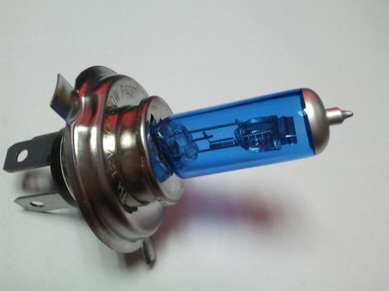 Super White 2PCS 12V 55W H4 6000K Xenon Car HeadLight Bulb Halogen Light