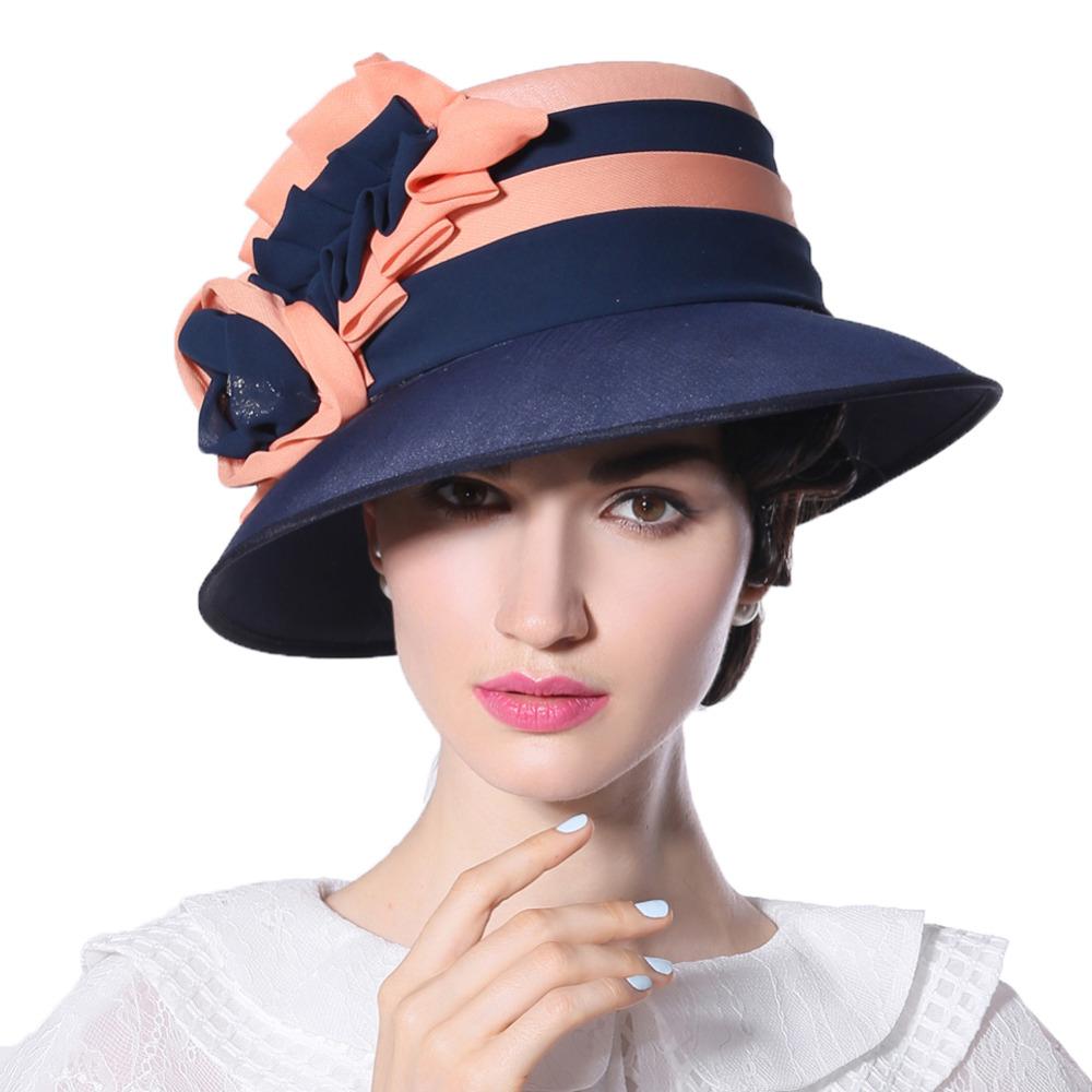Aliexpress.com : Buy Free Shipping Elegant Women Hat With ...