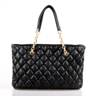 2012 autumn and winter plaid chain bag small bubble women's handbag one shoulder handbag