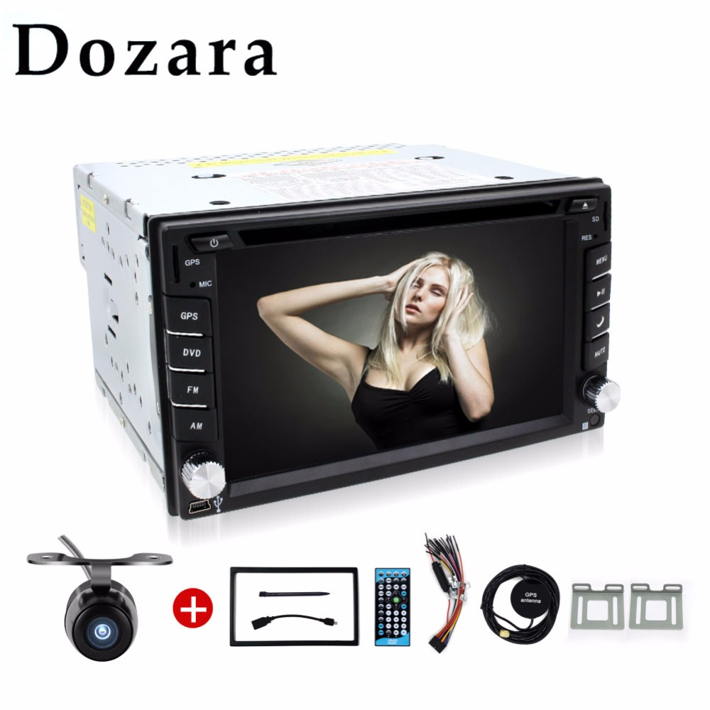 Car Electronic In Dash 2din car player GPS navigator/dvd player/radio tuner/mp3 player/touch screen/bluetooth Free Map and Cam(China (Mainland))