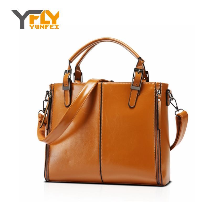 Y-FLY 2016 Fahsion Handbags Women Messenger Bags New Bag PU Leather Shoulder Bags Handbag Top-Handle Tote Crossbody Bags HC173(China (Mainland))