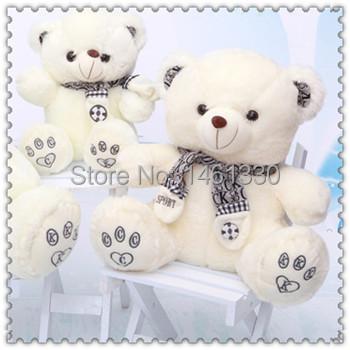 Teddy bear big plush animals plush toys soft toys for bouquets littlest pet shop giant stuffed bear valentine gift kids toys(China (Mainland))