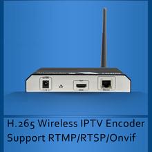 H.265/H.264 Wifi Encoder Wireless IPTV Encoder HDMI Video Encoder for IPTV broadcasting support RTMP RTSP ONVIF