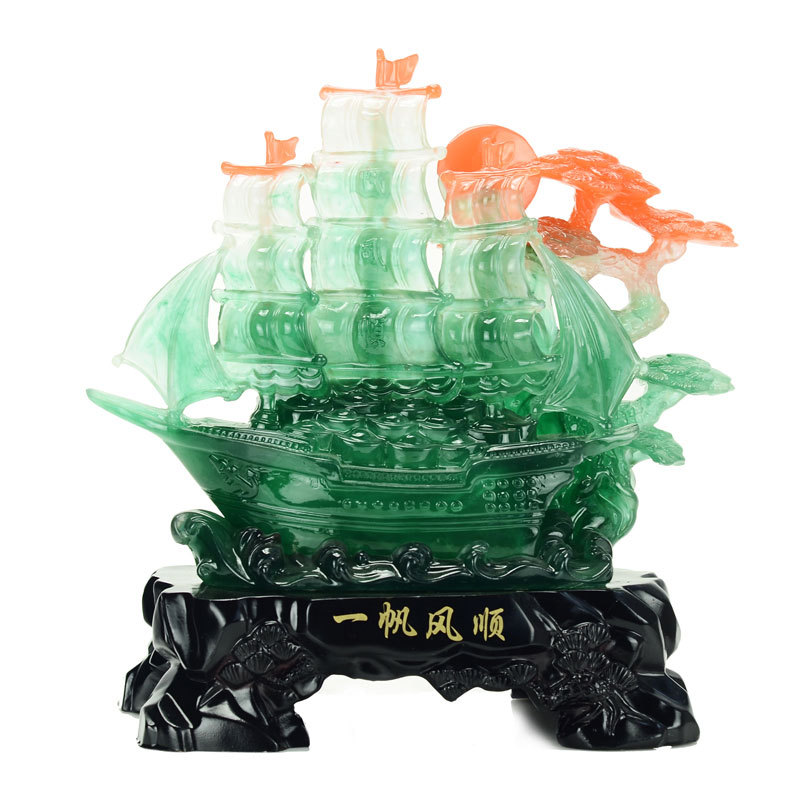 Smooth sailing shop Lucky ornaments home living room opening gifts home decorations ornaments ornaments(China (Mainland))