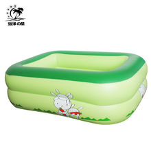 Square inflatable pool, swimming pool thickening children ocean ball pool hot style 1.2 meters(China (Mainland))
