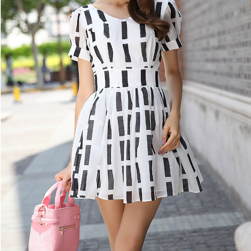 Free shipping!!!Chiffon One-piece DressJewelry Brand different size for choice geometric more colors for choice Sold By PC(China (Mainland))