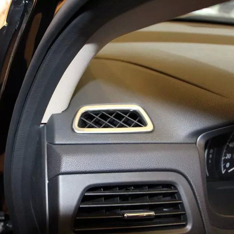 High Quality Car Interior Accessories ABS Chrome Air Vent Cover For Honda For CRV 2015(China (Mainland))