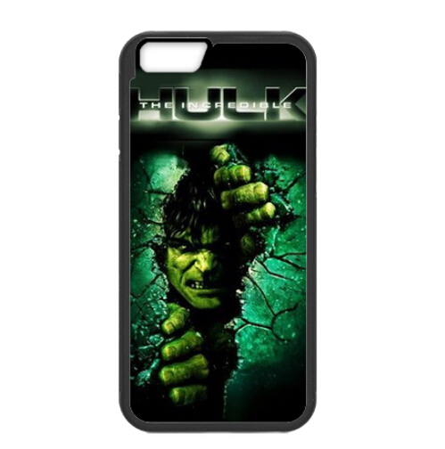 """The Green Gaint Hulk Open The Wall Amazing Plastic Case For iPhone6 4.7"""" (Laser Technology)(China (Mainland))"""