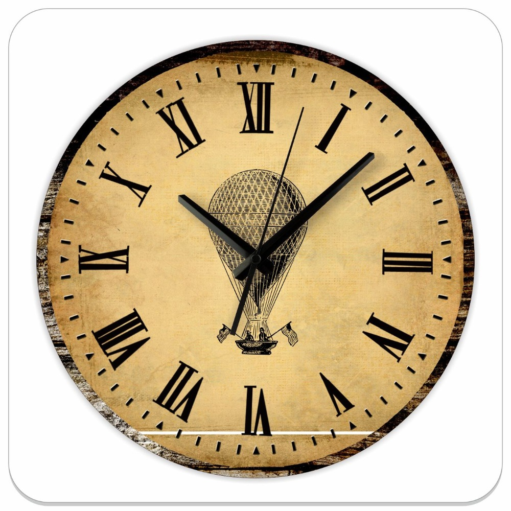 ... clock-absolutely-silent-roman-numeral-decorative-large-wall-clock