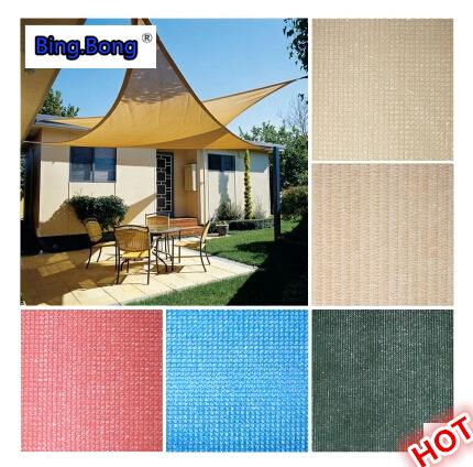 Free Shipping custom Sun Shade Sail outdoor UV Waterproof HDPE Triangles awning 1*1m courtyard pool Shade net gazebo canopy(China (Mainland))
