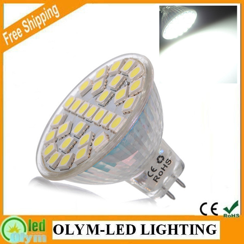 10Pcs 5W LED Light MR16 220V 110V Spot Lamp Warm White Energy Saving Spotlight 29 SMD 5050 MR16 GU5.3 LED Bulbs(China (Mainland))