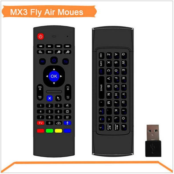 Top Selling Free shipping 2.4G Remote Control Air Mouse Wireless Keyboard + Voice for XBMC Kodi Android Mini PC TV Box Skype(China (Mainland))