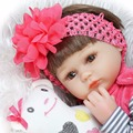 Bebe Silicone reborn realista 42cm Reborn Baby Doll kids Playmate Gift For Girls new year toys