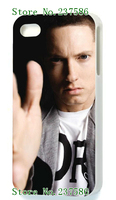 wholesale 50% 2014 Hot cases! The eminem Case  for white iPhone 5 5s  1pcs +free shipping