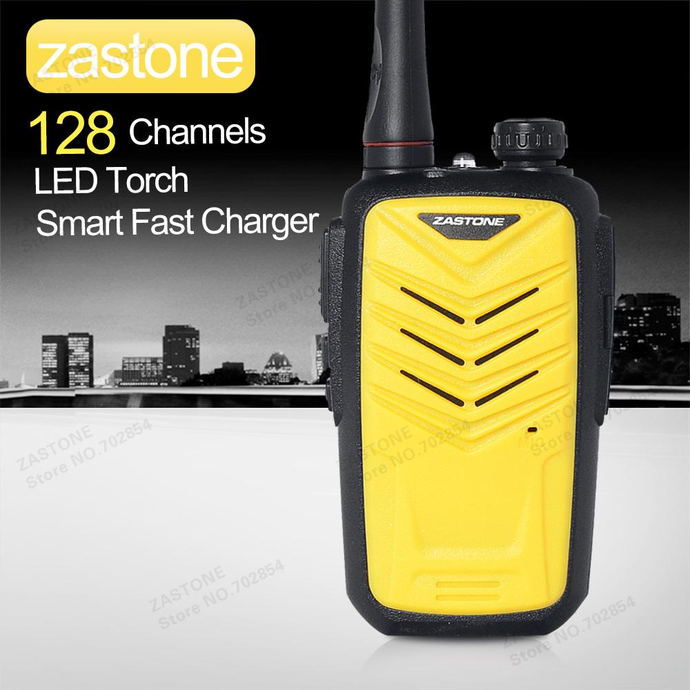 newest zastone mini8 yellow Protable walkie talkie radio UHF 400-470MHz mini radio can add 128CH two way radio(China (Mainland))