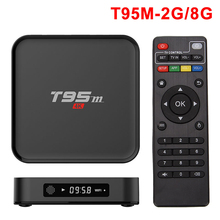 Sunvell T95M Smart Android TV Box Set Top Box Amlogic S905X Quad Core 64Bit Android 6.0 4K HD 2.4GHz KOD 16.0 Smart Media Player