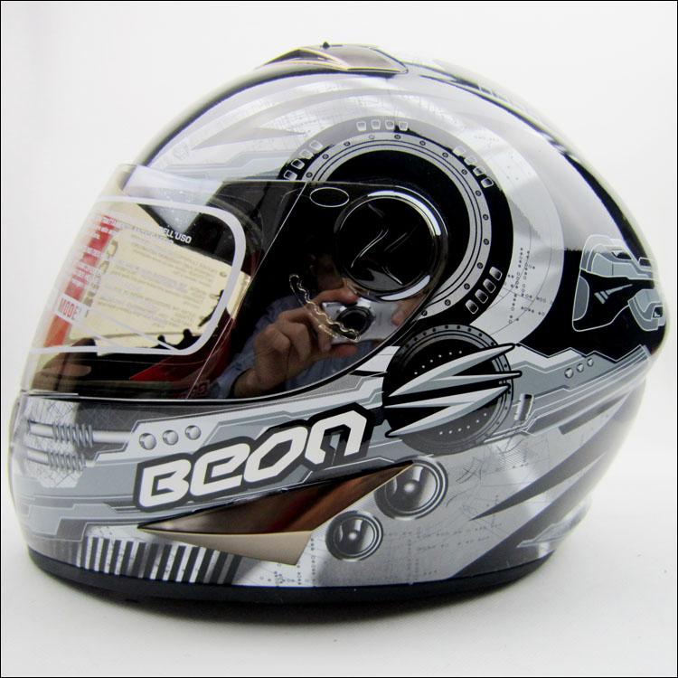 BEON helmet full Classic black and blue machine B500 motorcycle helmet full helmet winter ,capacete<br><br>Aliexpress