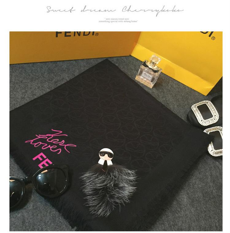 Luxury brand scarf Italy Big Size Brand Cashmere Scarves Karl Desinger Fur Bandana Poncho Blanket Pashmina Shawl Winter Echarpe(China (Mainland))