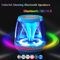 New Magic lights Mini Bluetooth X28 Speakers Stereo Wireless portable Handsfree Loudspeaker Support AUS SD Card