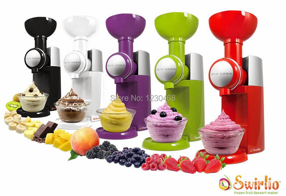 Big Boss Swirlio Frozen Fruit Dessert Maker Ice Cream Maker(China (Mainland))