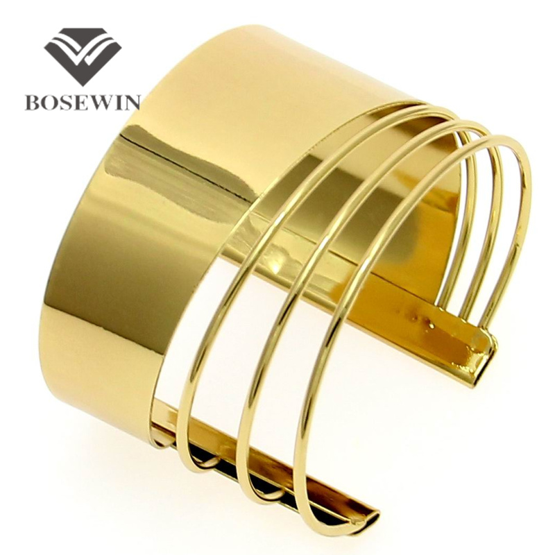 Buy Unique Design Clothes Jewelry Fashion Alloy Opened Graceful Cuff Bangles